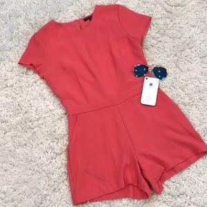 Banana Republic Short Sleeve Tailored Romper